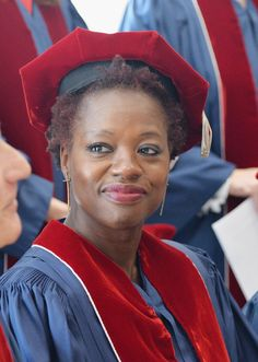 Viola Davis at The Juilliard School 109th Commencement Ceremony on May 23, 2014