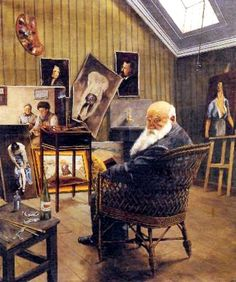 Self-Portrait in Wicker Chair, 1917 by Christian Krohg Skagen, Edvard Munch, Gustave Courbet, Artists And Models, Bohemian Art, Ludwig, Romanticism, Pictures To Paint, National Museum