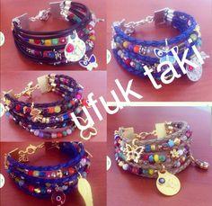 Coklu bileklik/leather bracelet