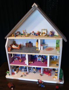 nettoyage carton de vim Maison de poupées