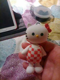 Hello kitty polymer clay
