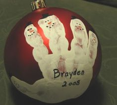 Cute Christmas Ornament Idea