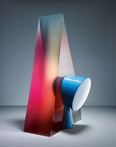 """Light & Jelly"" is series of lamps cast in jelly by Le Creative Sweatshop and then photographed by Fabrice Fouillet."