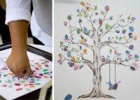 Fingeraftrykstræet – en go´idé til festlige begivenheder …