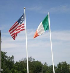 7dac55677846 American and Irish flag at New England Irish Center