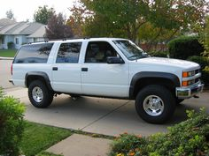 chevy suburban | 1997 I like how clean this looks