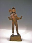 Big Brother- A bronze sculpture by Mark Hopkins 8x3