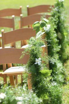 Aisle Decoration by Weddings by Jennifer, via Flickr