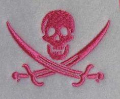 Pirate Jack Rackham Embroidery Design | Apex Embroidery Designs, Monogram Fonts & Alphabets