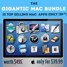The Gigantic Mac Fall Bundle Now on Sale Worth $455 (91% OFF)