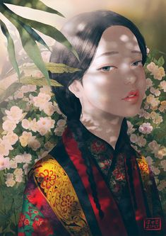 Kai Fine Art is an art website, shows painting and illustration works all over the world. Art And Illustration, Art Sketches, Art Drawings, Silkscreen, Forest Drawing, Chinese Art, Asian Art, Female Art, Art Inspo