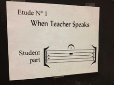 Music humor – (Student part: REST your mouth for an extended amount of time!) This works in my classroom! 🙂 Music humor – (Student part: REST your mouth for an extended amount of time!) This works in my classroom! Classical Music Humor, Mundo Musical, Music Bulletin Boards, Music Jokes, Funny Music, Band Jokes, Band Director, Piano Teaching, Elementary Music