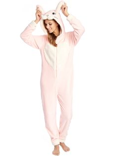 Combinaison lapin Begummy Pyjama Animaux, Petit Lapin, Enthousiasme,  Couture, Vinyles, Femme 4224ee268208