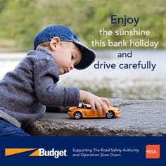 """Budget Car Rental (www.budget.ie) would like to show our support for the """"Operation Slow Down""""  campaign being promoted over this sunny bank holiday weekend by an An Garda Síochána and Road Safety Authority Ireland by appealing to drivers to slow their speed and save lives. Please share to show your support."""