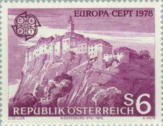 Sello: Rieger Castle, Steiermark (Austria) (C.E.P.T.) Mi:AT 1573,Yt:AT 1402,ANK:AT 1605