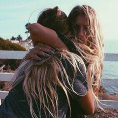 Bestie hugs