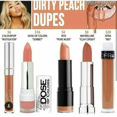 Nude lip color nyx
