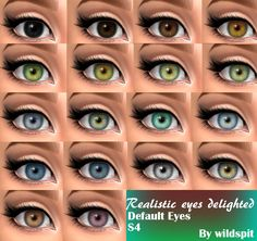 """wildspit: """" HEEEEEEEYYYY GUUUYS How are you today ? Hope you need default eyes :P Ok, so let me explain this cc…. They are just Default eyes that I created with my all heart. The Sims 4 Skin, The Sims 2, The Sims 4 Packs, Sims Four, Los Sims 4 Mods, Sims 4 Body Mods, Sims 4 Game Mods, Maxis, Sims 4 Cc Eyes"""