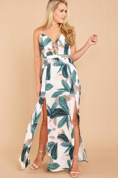 70829343a266 5 Suite Retreat White Multi Print Maxi Dress at reddressboutique.com Dresses,  Fashion,
