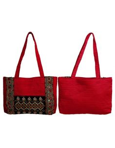 Mirror Embroidery Work Shoulder Bag Item code : FHD109  http://www.bharatplaza.com/ready-to-ship/home-decor/mirror-embroidery-work-shoulder-bag-fhd109.html https://www.facebook.com/bharatplazaportal https://twitter.com/bharat_plaza