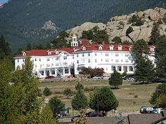 Stanley Hotel Estes park co.-my cousin Perry And his wife got married here , great wedding