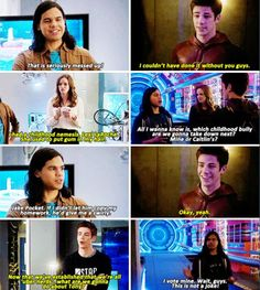 The Flash - Barry, Caitlin and Cisco #1x06 #Season1 ♥