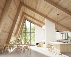 [New] The 10 Best Home Decor Today (with Pictures) - Lafayette House Architect: Ryan Leidner Location: California Javier Wainstein _ _ _ Rendering Interior, Modern Interior Design, Interior Architecture, Scandinavian Architecture, Lafayette House, A Frame House, Architect House, Luxury Homes, Luxury Estate