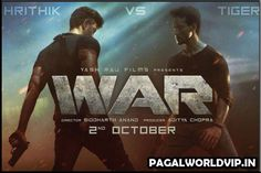 War is a 2019 Indian Hindi action thriller film starring Hrithik Roshan, Tiger Shroff and Vaani Kapoor in the lead role. The film is directed by Siddharth Anand and produced by Aditya Chopra. Aditya Chopra, Bollywood Movie Songs, Yash Raj Films, Indian Hindi, Dance Numbers, Thriller Film, Mp3 Song Download, Hrithik Roshan