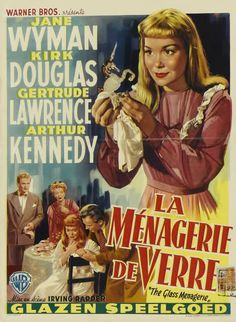 The Glass Menagerie Masterpiece performance by Jane Wyman and Kirk Douglas