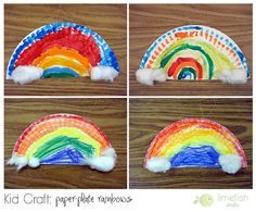 Kid Craft: St. Patty's Day Rainbows © limefish studio
