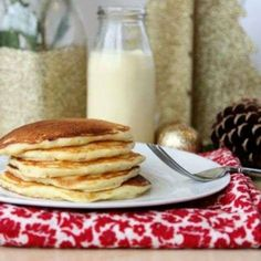 Eggnog Pancakes | Shine Food - Yahoo Shine