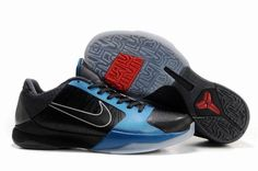 Ken Griffey Shoes Nike Zoom Kobe 5 Dark Knight Black Dark Grey Neptune Blue [Nike Zoom Kobe 5 - Kobe Bryant is evidently a fan of the Batman Dark Knight film. This time taking its design cues from Batman in a blend of black, dark grey and neptune blue. Kobe 5 Shoes, New Jordans Shoes, Pumas Shoes, Nike Shoes, Air Jordans, Sneakers Nike, Converse Shoes, Nike Factory Outlet, Nike Outlet