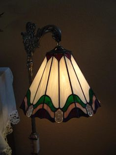 Stained Glass Lamp by Diana Lee Rudolf