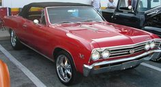 Chevelle SS Convertible