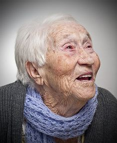 Dna. Maria - Elderly portrait by Levy Carneiro Jr