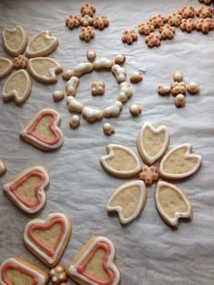 Spring wedding cookies #sweetheartbakery #naturalingredients