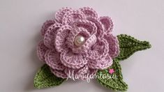 Come fare le rose all'uncinetto arrotolate: schemi e tutorial - manifantasia Sunburst Granny Square, Filet Crochet, Rose, Crochet Earrings, Projects To Try, Creative, Flowers, Jewelry, Tutorial Crochet