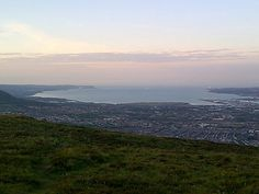 Belfast lough ... From black mountain