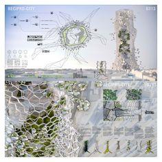 City-like Voronoi Skyscraper by André Serpa, Bernardo Daupiás Alves, Egle Bazaraite, Jutta Rentsch, Marco Braizinha - Portugal