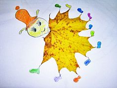 crafts with autumn leaves