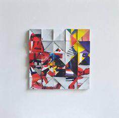 Saatchi Art Artist Shu #Collage  #Wabi #JapaneseAesthetics #magazine #clippings