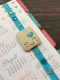 Happy Planner Gem Planner Band Stretchy Band Bookmark Midori accessories travelers notebook accessories journal diary band Bible band cute