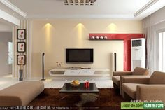 living rooms with tv