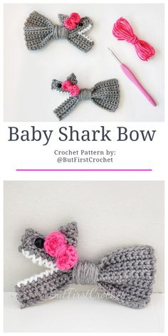 Cutest Bow Free Crochet Patterns & Paid Cutest Bow Free Crochet Patterns & Paid,häkeln Crochet Baby Shark Bow Crochet Pattern Related posts:Baby Humpback Crochet Whale Free Pattern - knittingHow to knit a bunny rabbit. Crochet Bow Pattern, Cute Crochet, Crochet For Kids, Crochet Crafts, Crochet Projects, Knit Crochet, Booties Crochet, Free Baby Crochet Patterns, Crochet Ideas