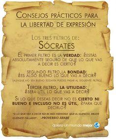 Consejos Prácticos para la Libertad de Expresión - Sócrates