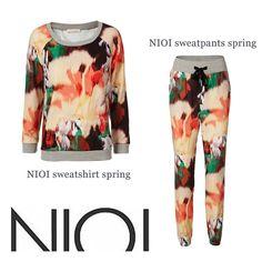 nioi sweatshirt sweatpants print