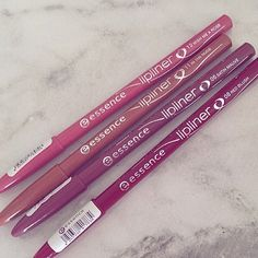 LittleMissSCB: Essence Lip Liners Review & Swatches | The world ...