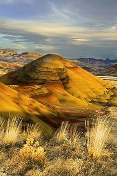 Painted Hills - John Day Fossil Beds National Monument, Oregon, USA