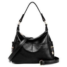 c50d66dfde60 Luxury Leather Handbags Fashion Women Famous Brands Designer Handbag