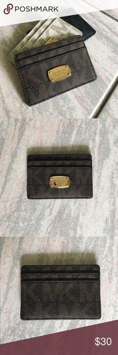 KORS Michael Kors card holder Compact card holder KORS Michael Kors Bags Wallets
